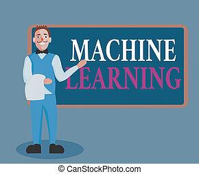 être, uniforme, présentation, capacité, learning., ...