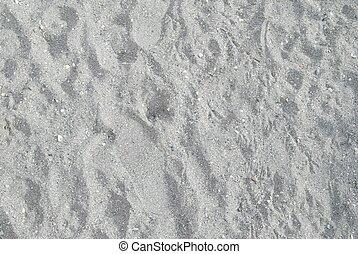 être, utilisé, gris, texture, arrière-plan., sable, boîte