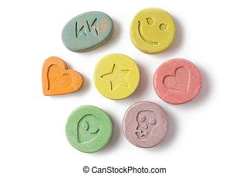êxtase, pílulas