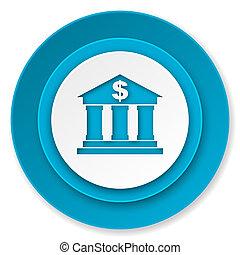 ícone, banco