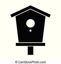 ícone, birdhouse