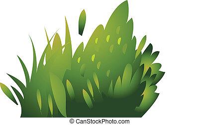 ícone, bush