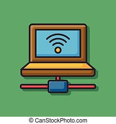 ícone computador