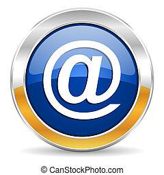 ícone, correio