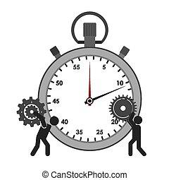 ícone, cronômetro