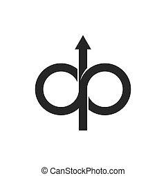 ícone, desenho, ilustração, vetorial, maneira
