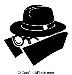 ícone, espião