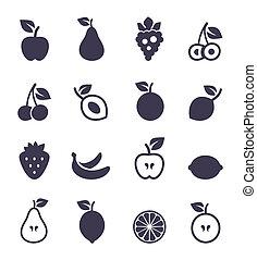 ícone, fruit2
