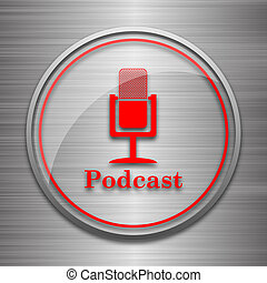 ícone, podcast
