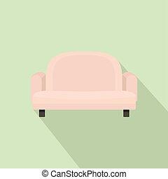 ícone, poltrona, estilo, sofá, apartamento