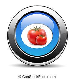 ícone, tomate