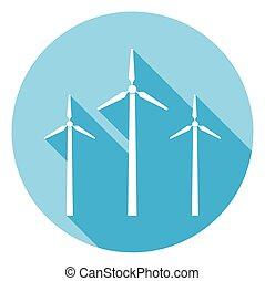 ícone, vento, teia, sombra, desenho, planta, longo, poder