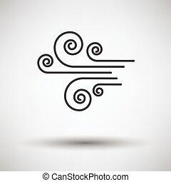ícone, vento
