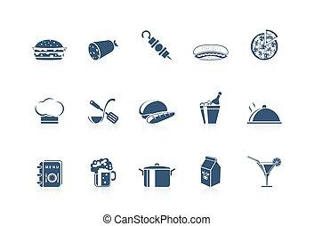 ícones alimento, 2