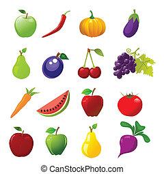 ícones alimento