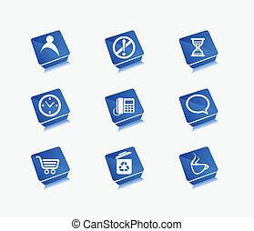ícones correia fotorreceptora, jogo