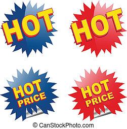 ícones correia fotorreceptora, para, ecommerce