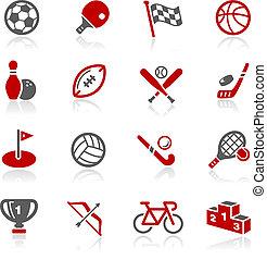 ícones esportes, --, redico, série