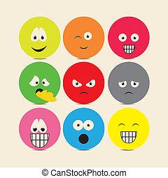 ícones, expressões