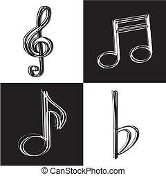 ícones, música