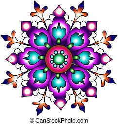 índia, ornament., paisley, seamless, pr