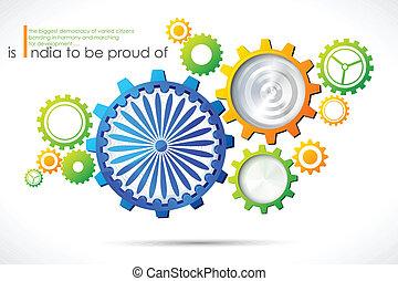 índia, progressivo