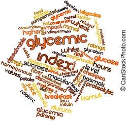 índice, glycemic