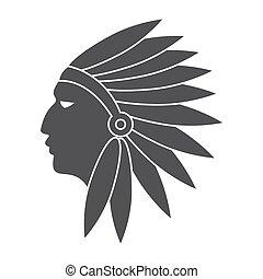 índios americanos, nativo