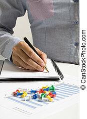 írás, képben látható, napirend