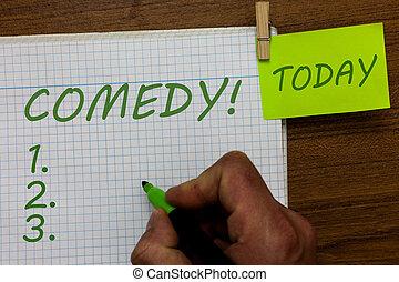 írás, szöveg, befolyás, móka, szó, jegyzetfüzet, csinál, nevet, birtok, figyelmeztetés, fogalom, könyvjelző, ügy, ruhacsipesz, ember, szórakozás, fából való, comedy., háttér., profi, skicc, humor, kihallgatás