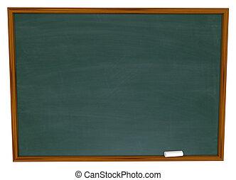 ír, üzenet, -e, chalkboard, tiszta