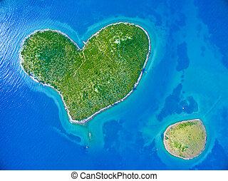 île,  galesnjak, Croatie