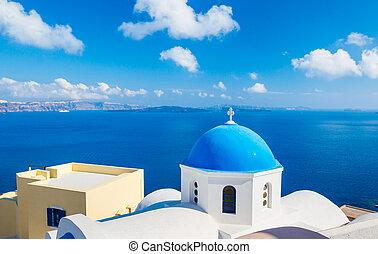 île, grèce, santorini