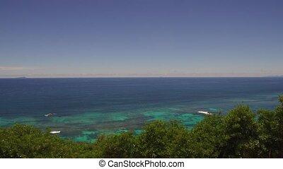 île, indien, africaine, océan