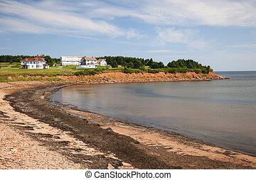 île prince edouard, littoral