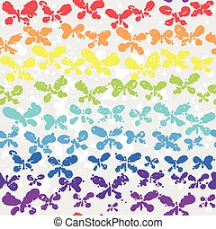 Ð¡olorful background with butterfly