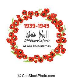 Ð¡ommemorative wreath