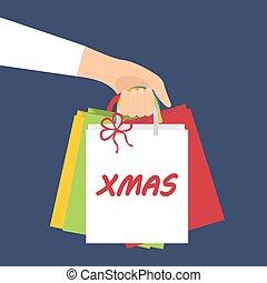 Ñhristmas shopping presents