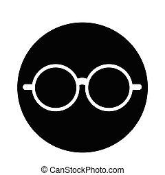 óculos, ícone