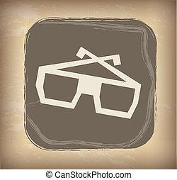 óculos, 3d