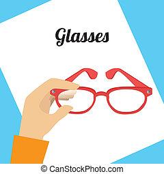 óculos, desenho