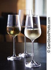 óculos vinho, ligado, tabela