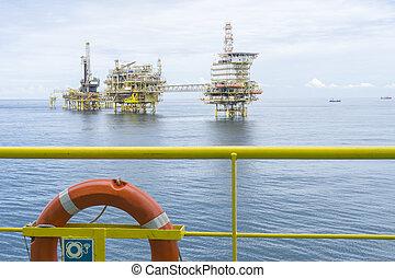 óleo, gás