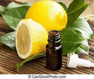 óleo, limão, essencial