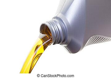 óleo, mudança