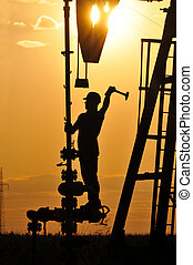 óleo, operater
