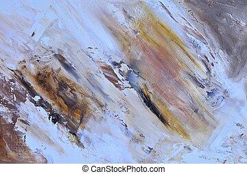 óleo, painting.
