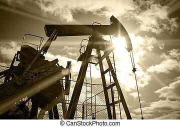 óleo, rig.