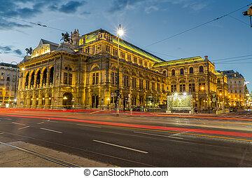 ópera, austria, viena