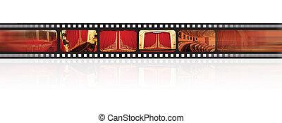 ópera, filmstrip